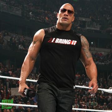 WWE Superstar profile Dwayne The Rock Johnson