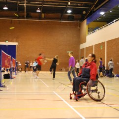 Wheelchair Volleyball Crayola Wooden Table And Chair Set Badminton Training Tournament 43 Taster Weekend