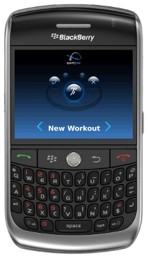SportyPal on BlackBerry