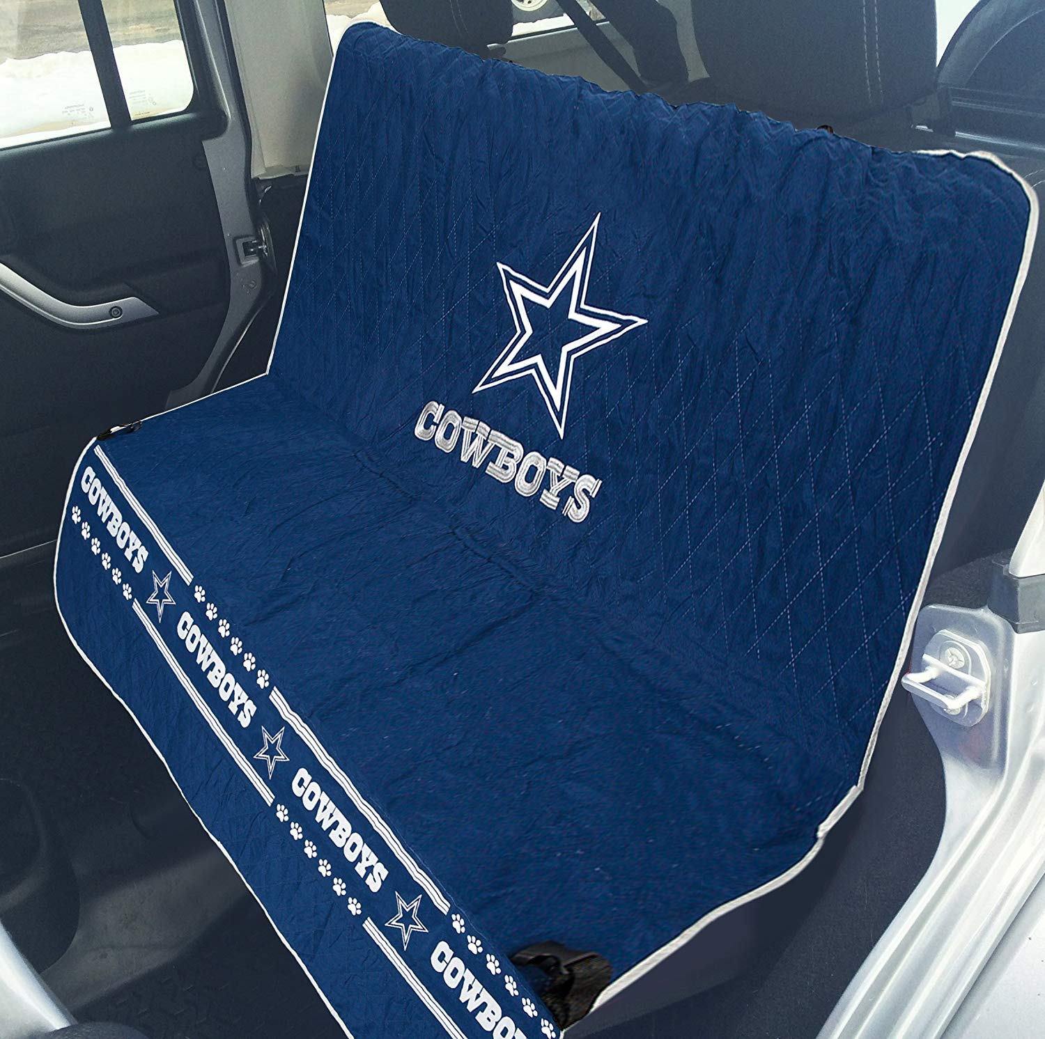 Wondrous Dallas Cowboys Car Seat Cover Alphanode Cool Chair Designs And Ideas Alphanodeonline