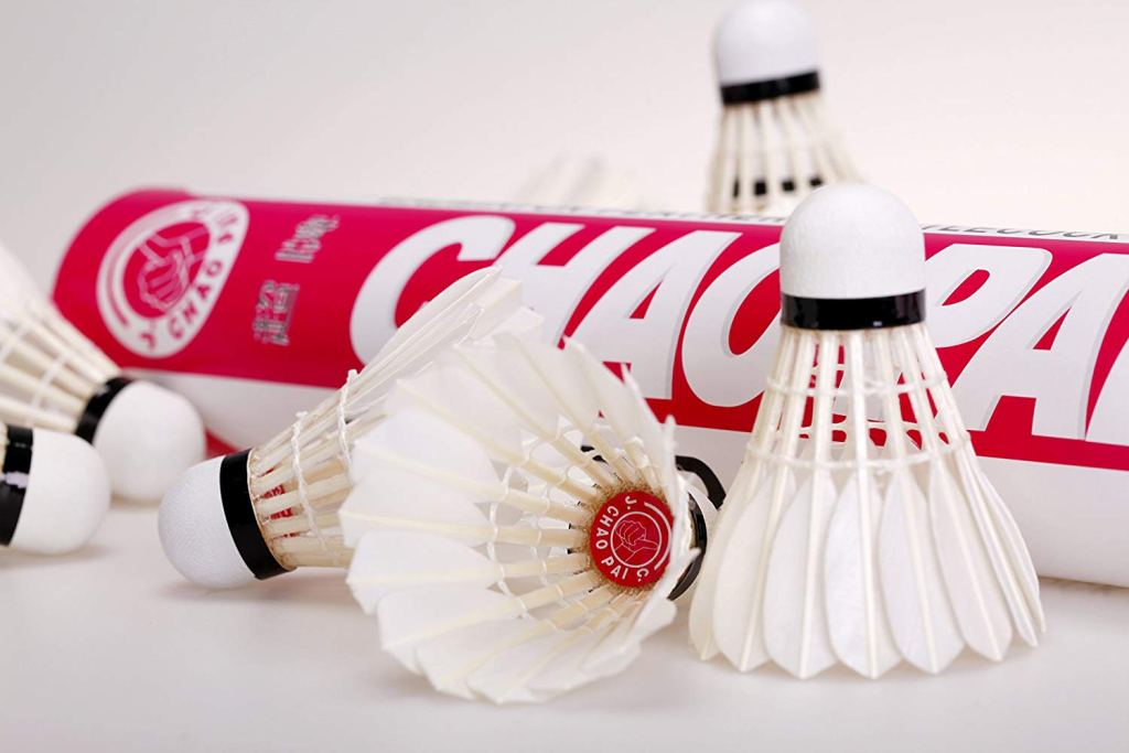 chaopai red feather shuttlecock review