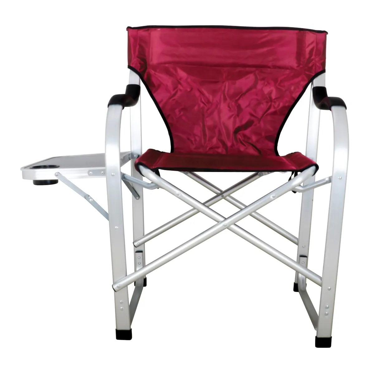 Heavy Duty Outdoor Folding Chairs Heavy Duty Collapsible Lawn Chair Burgundy From