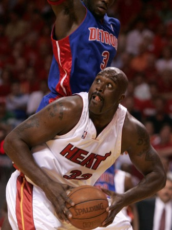 Shaquille O'Neal as a Miami Heat Player (2004–2008)
