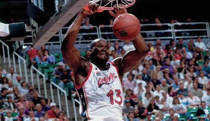 Shaquille O'Neal in the USA (Atlanta 1996)