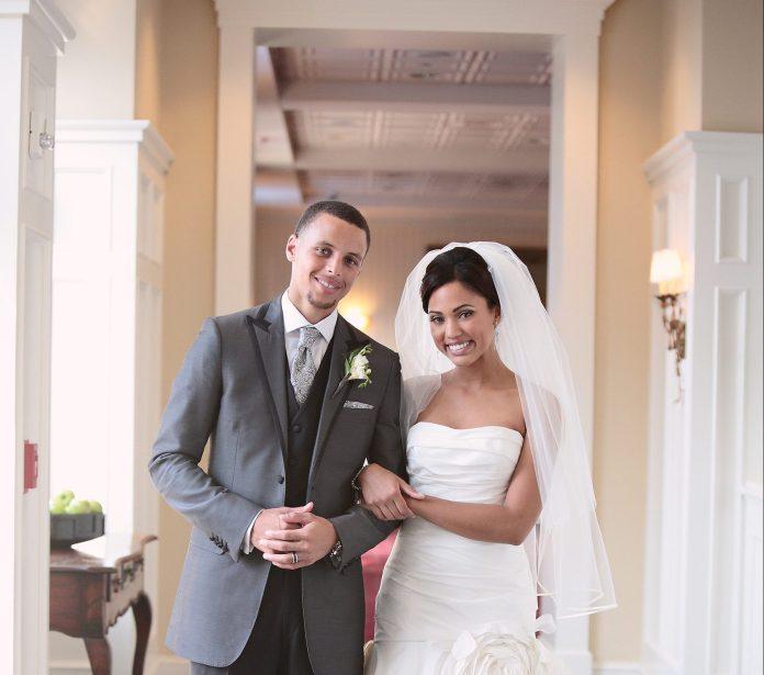 Ayesha and Stephen Curry Wedding