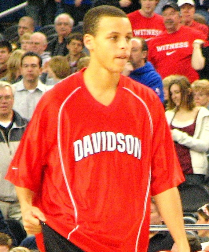 Stephen Curry With Davidson