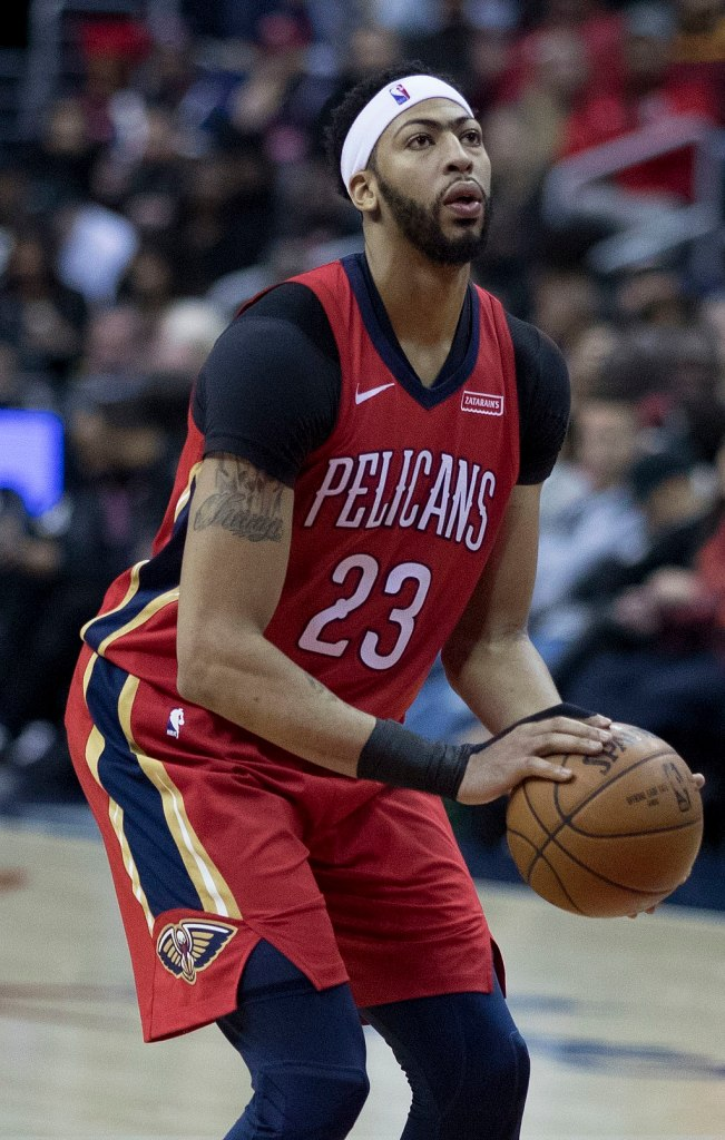 Anthony Davis NBA Career with New Orleans Pelicans