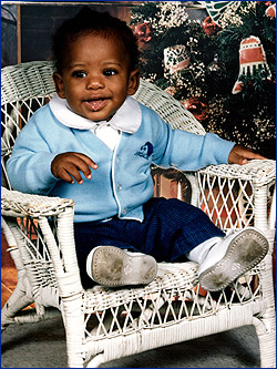 Chris Paul childhood photo