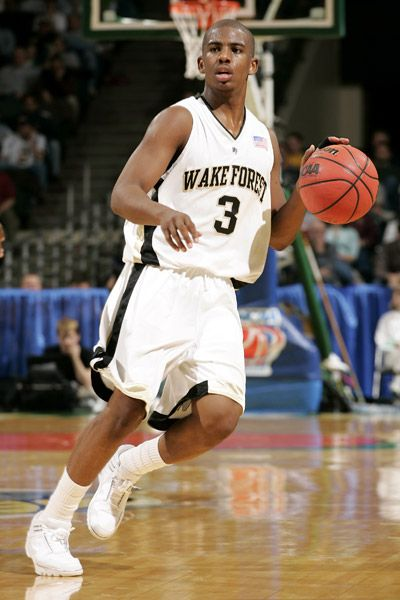 Chris Paul in action for Wake Forest University