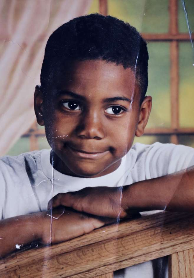 Kawhi Leonard Childhood Photo