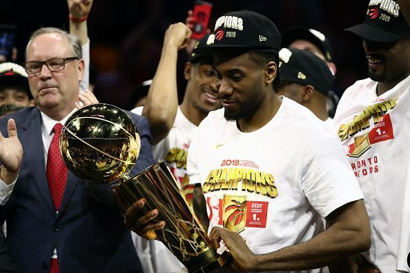Kawhi Leonard is the 2019 NBA MVP