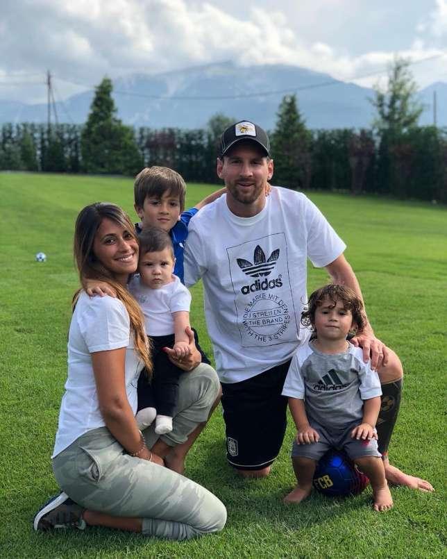 Lionel Messi, Wife, Children