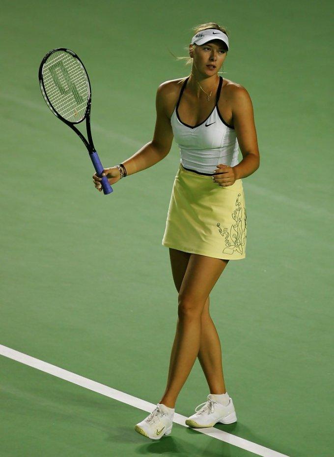 Photo of Maria Sharapova during Australian Open 2007
