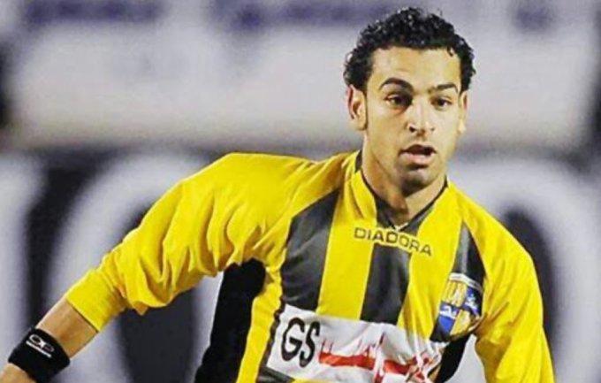 Mohamed Salah in El Mokawloon Jersey