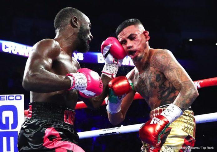 Terence Crawford vs Jose Benavidez