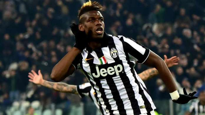 Photo of Paul Pogba playing for Juventus