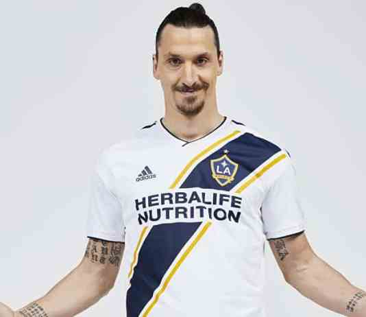 Zlatan Ibrahimovic in LA Galaxy Jersey