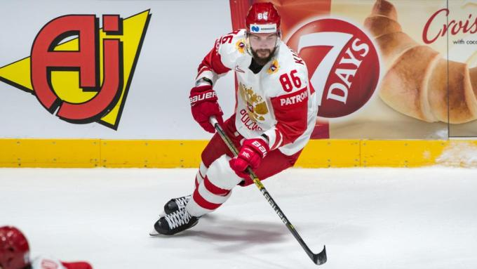 Nikita Kucherov with the Russian Side in 2019