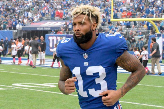 Odell Beckham Jr of New York Giants