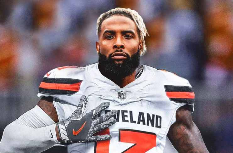 Odell Beckham of Cleveland Browns