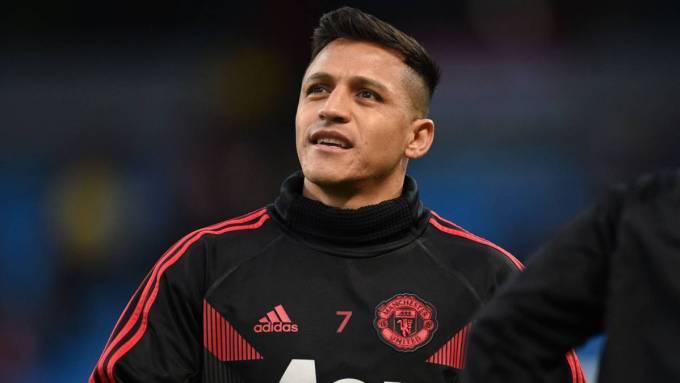 Manchester United's Alexis Sánchez