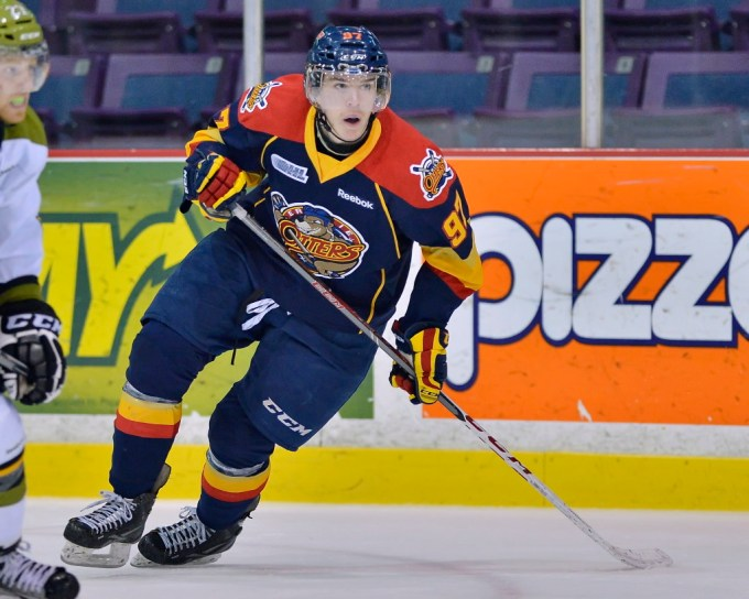Connor McDavid of Erie Otters in 2013