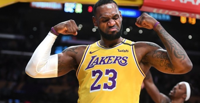 Highest-Paid NBA Players - LeBron James