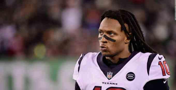 Deandre Hopkins of Houston Texans