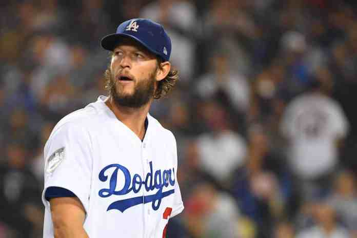 Photo of Clayton Kershaw of the Los Angeles Dodgers