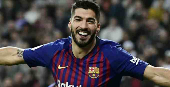 Photo of Barcelona's Luis Suárez pictured in 2018