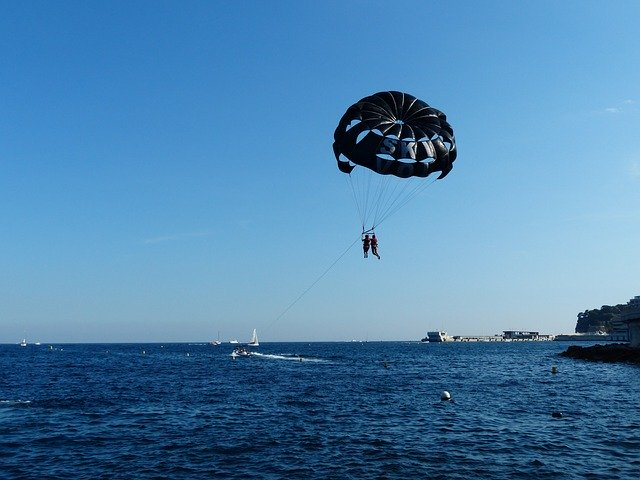 Extreme Sports - Parasailing