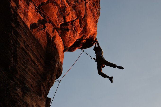 Extreme Sports - Rock Climbing