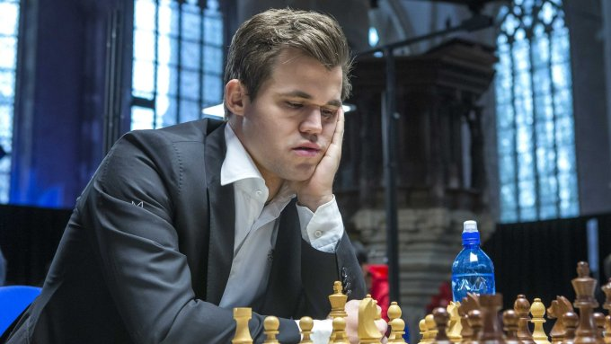 Magnus Carlsen - Norwegian chess player