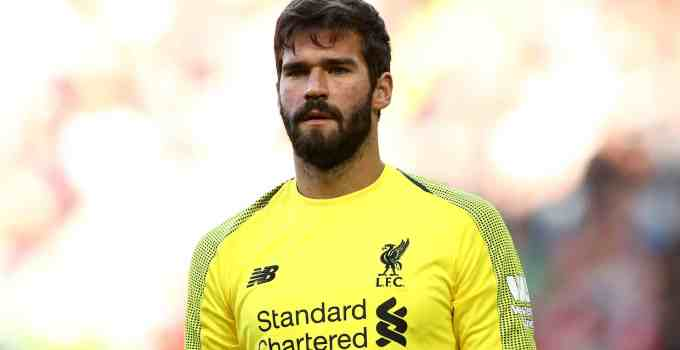 Liverpool's Goalkeeper, Alison Becker