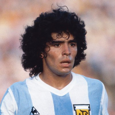 Photo of Diego Maradona, Argentine Soccer Player