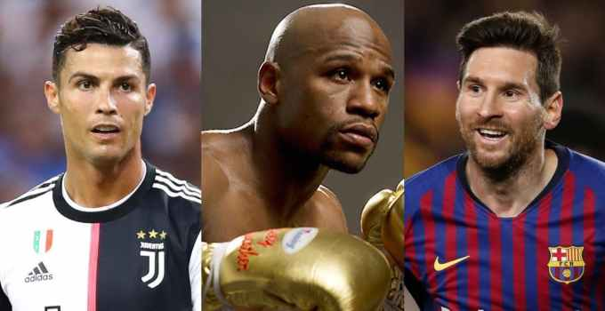 Photo of Cristiano Ronaldo, Floyd Mayweather and Lionel Messi - Top-10 Highest-Paid Athletes Of The Decade 2010-2019