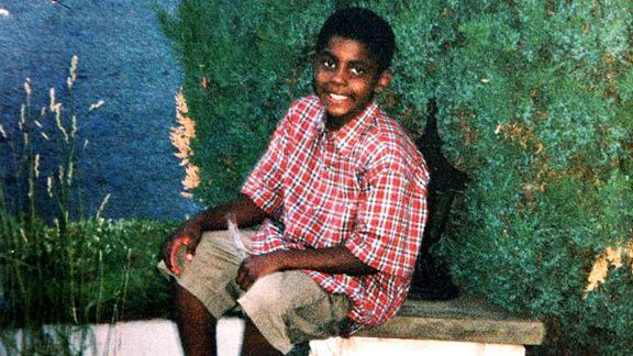 Kyrie Irving's Childhood Photo