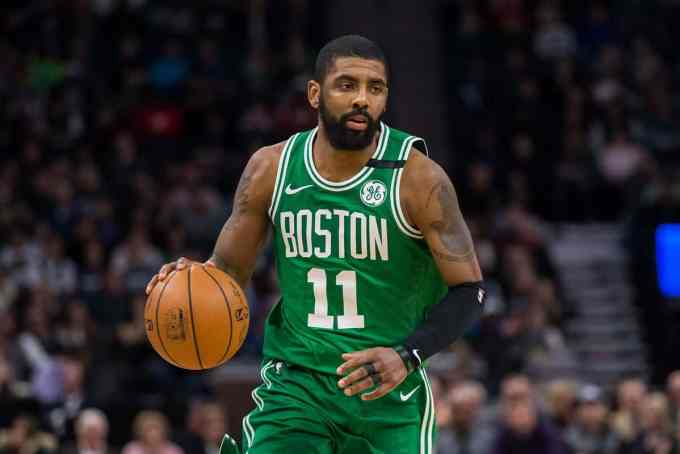 Photo of Kyrie Irving in action for Boston Celtics