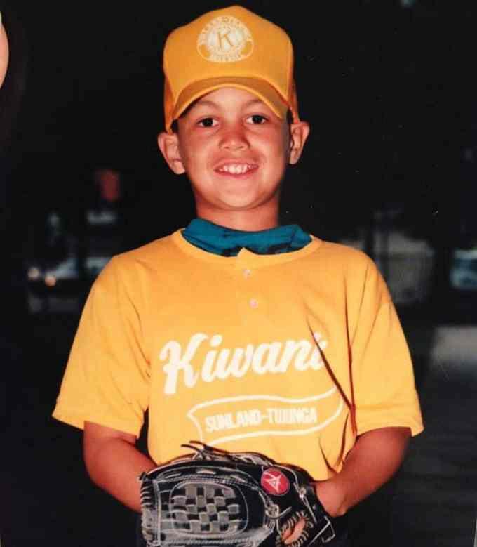 Photo of Giancarlo Stanton as a child