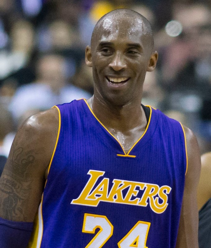 Kobe Bryant Net Worth – Photo with the Lakers