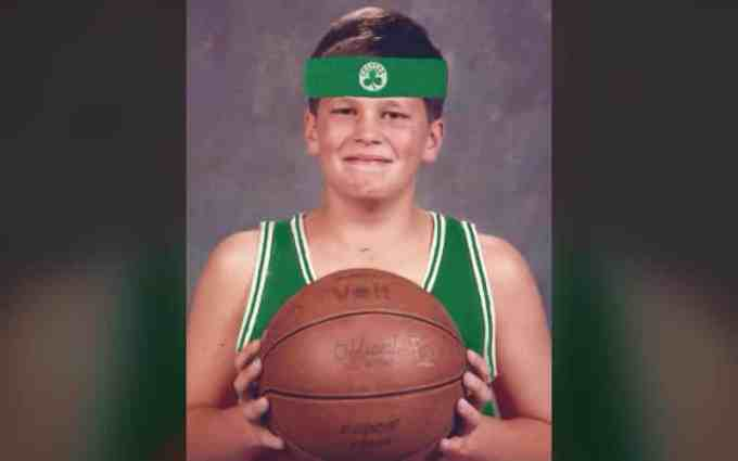 Tom Brady Childhood Photo