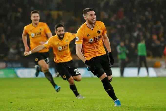 Wolverhampton Wanderers' Matt Doherty celebrates 2019