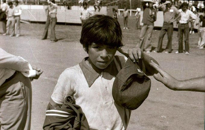 Diego Maradona Childhood Photo