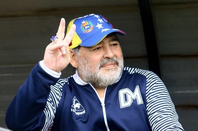 Diego Maradona in 2019