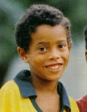 Ronaldinho's Childhood Photo