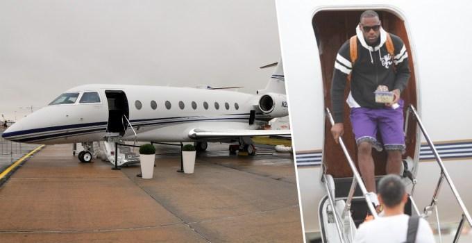 LeBron James Private Jet