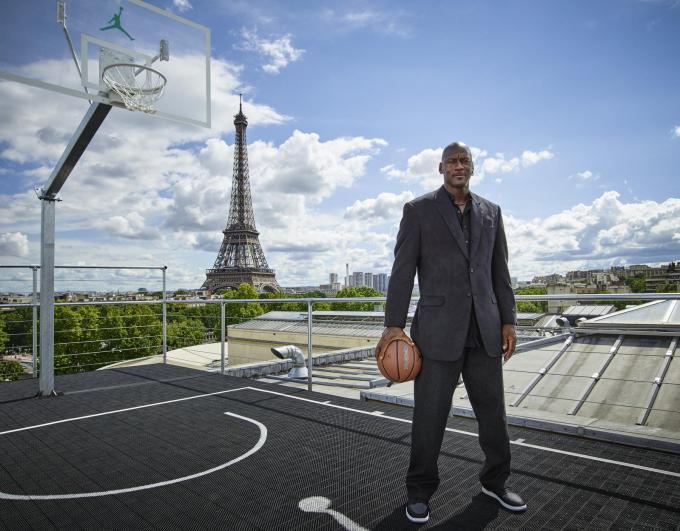 Michael Jordan in Paris