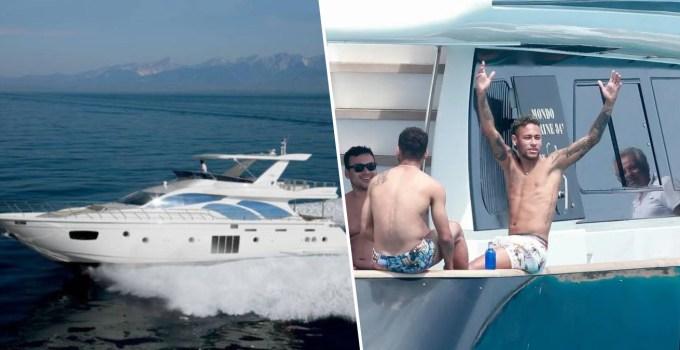 Neymar Yacht