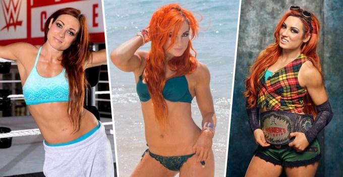 Hottest WWE Superstars - Becky Lynch