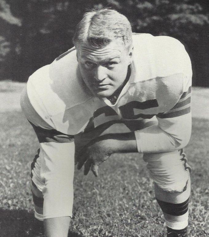 Chuck Noll in 1954
